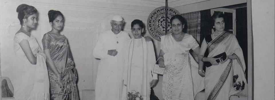 Visit of Indian Prime Minister Nehru